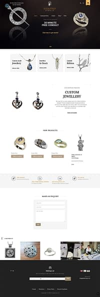 Sculpted Jewels home page